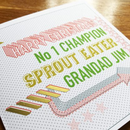 the perfect card for all the sprout lovers in your life